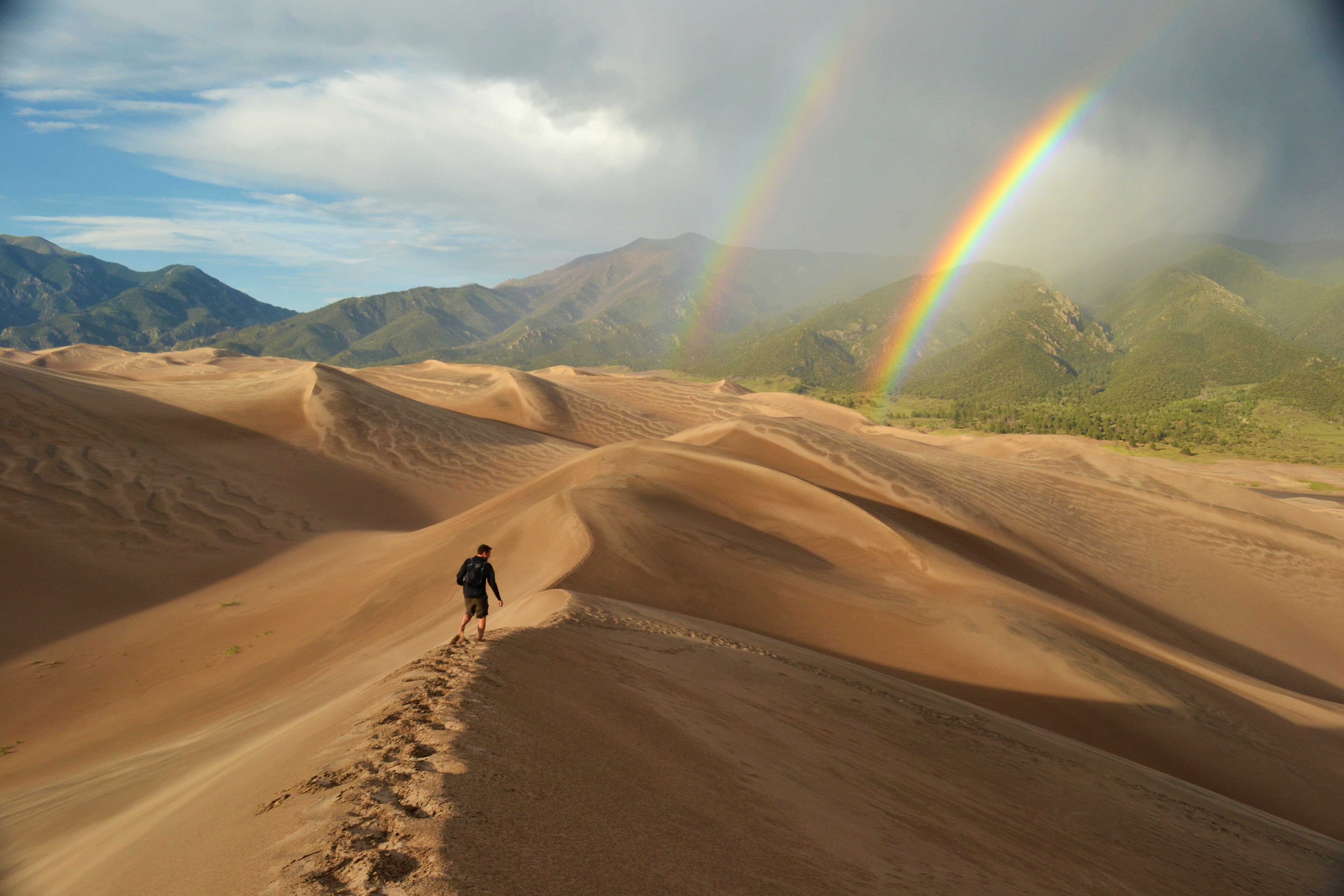 Geology on The Highway of Legends | Bill's Views on Most ... |Great Sand Dunes